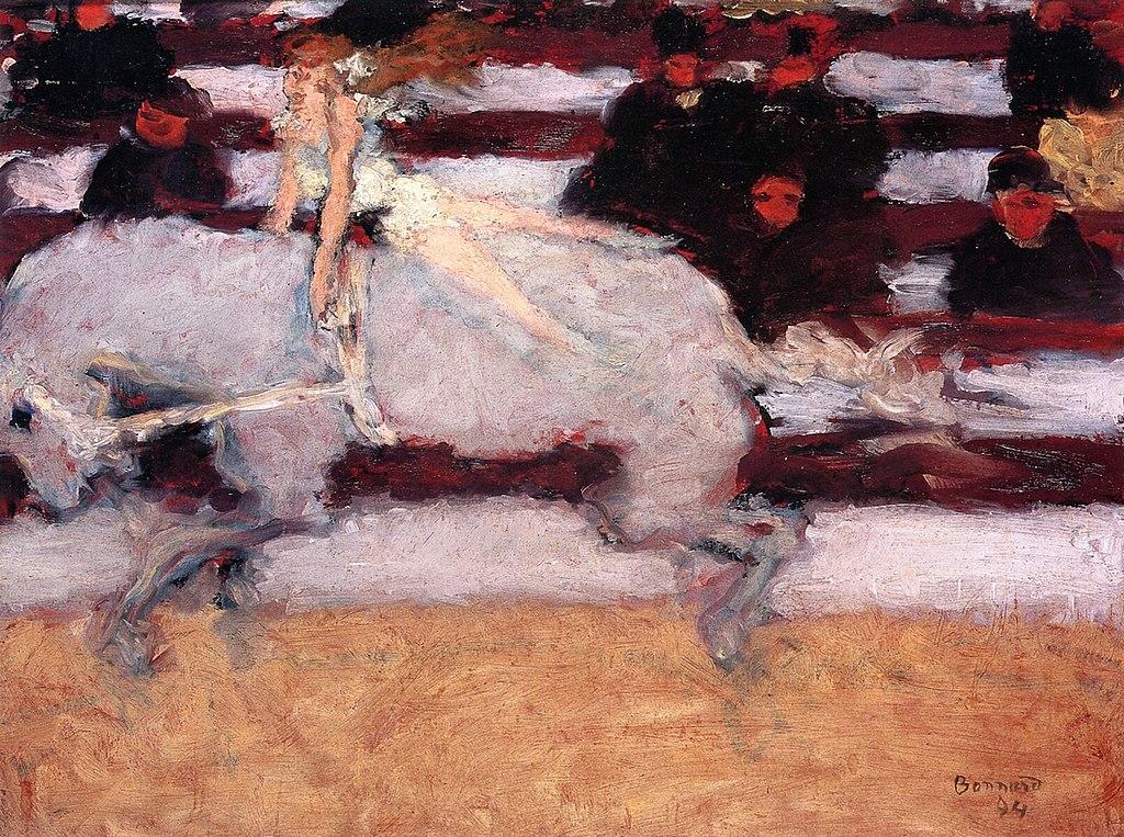 художник Пьер БОННАР (1867-1947) / «Цирковая наездница»