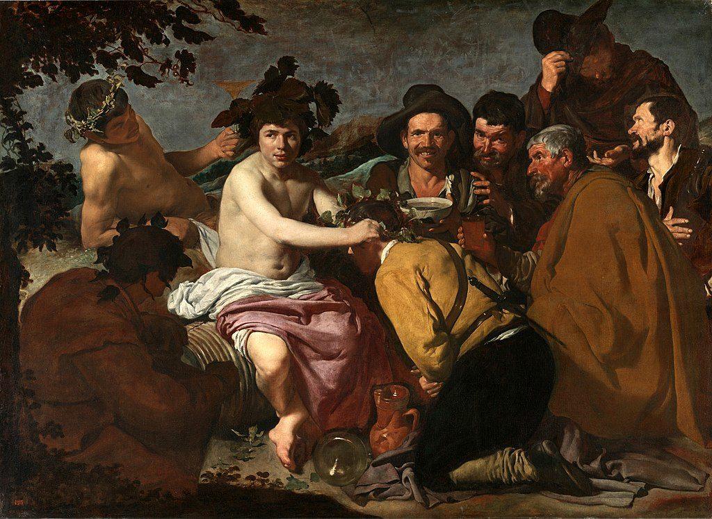 Диего Веласкес / «Триумф Вакха. Пьяницы» / 1629