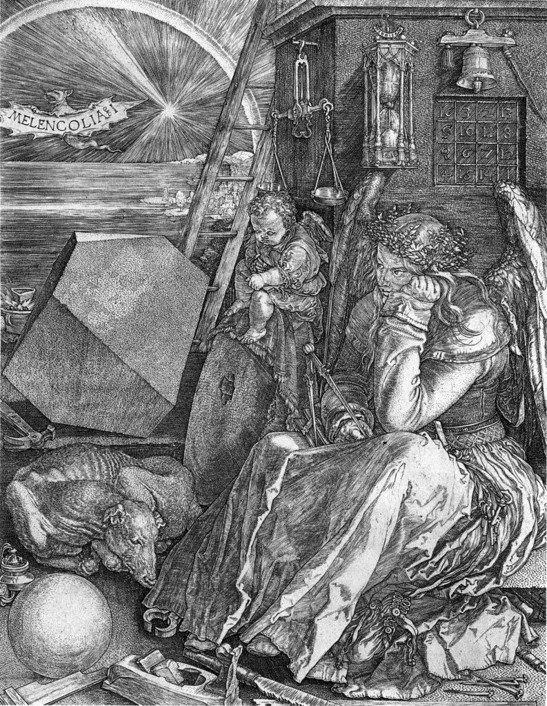 Альбрехт Дюрер / «Меланхолия» / 1514