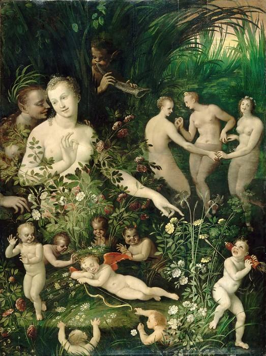 Unknown - Школа Фонтенбло / «Мифологическая аллегория» / ок. 1580