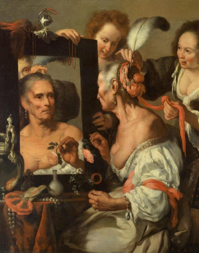 Бернардо Строцци / «Старая кокетка» / 1637