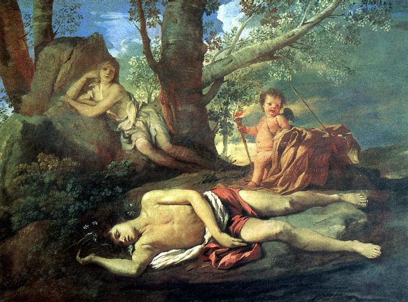 Никола Пуссен / «Нарцисс и Эхо» / 1630