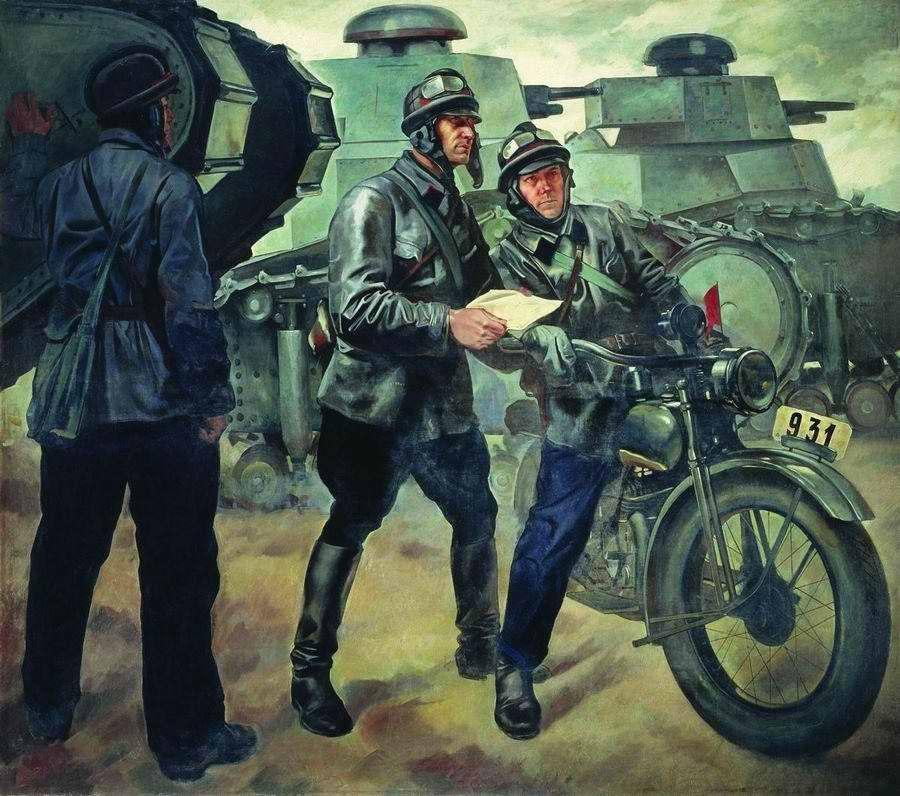 Петр Шухмин / «Танкисты» / 1928