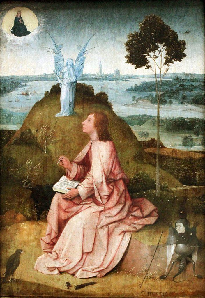 Иероним Босх / «Иоанн на острове Патмос» / 1489