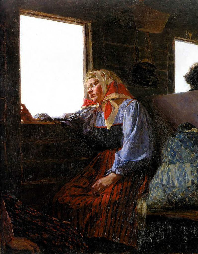 художник Кириак КОСТАНДИ (1852-1921) / «В люди»