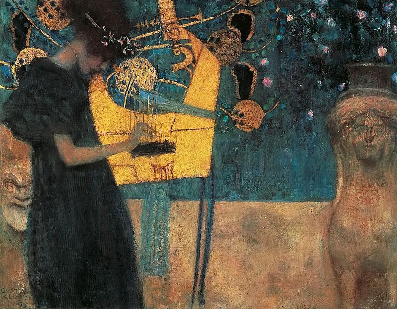 Густав Климт / «Аллегория музыки» / 1895