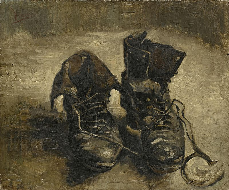 Винсент Ван Гог / «Башмаки» / 1886