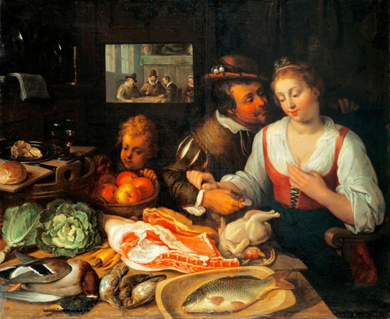 Джереми ван Винге / «Кухонная Сцена» / 1613