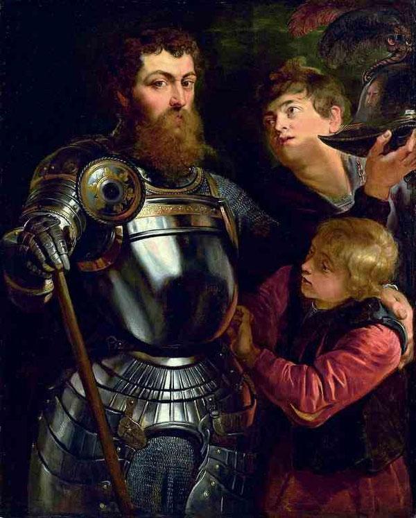 Питер Пауль Рубенс / «Портрет командира» / 1610
