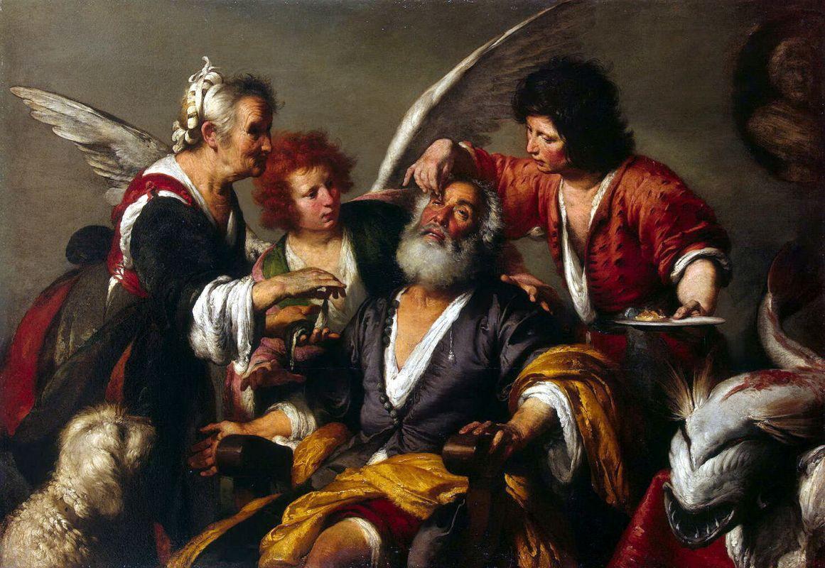 Бернардо Строцци / «Исцеление Товита» / 1630