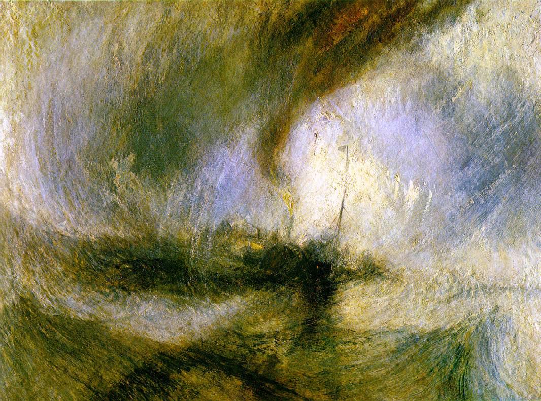Уильям Тернер / «Снежная буря» / 1842