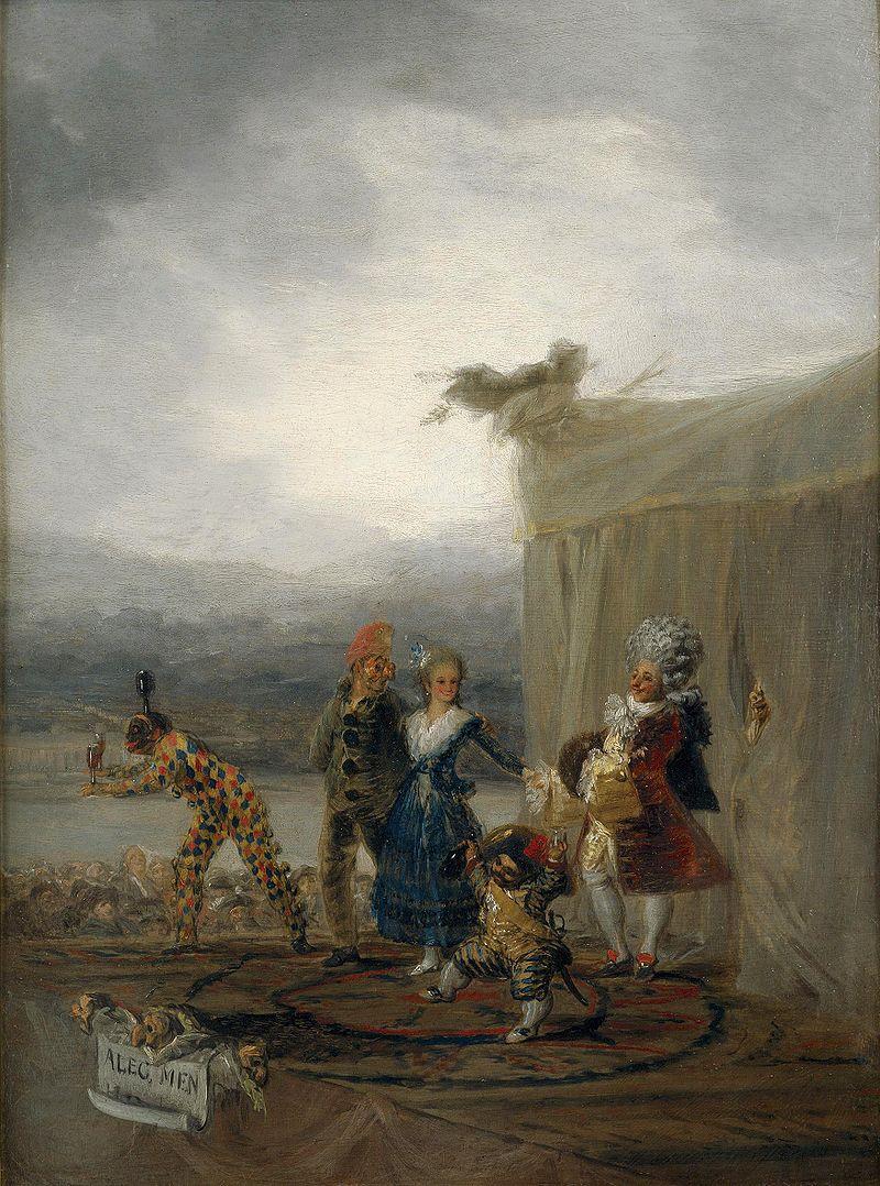 Франсиско Гойя / «Бродячие комедианты» / 1793