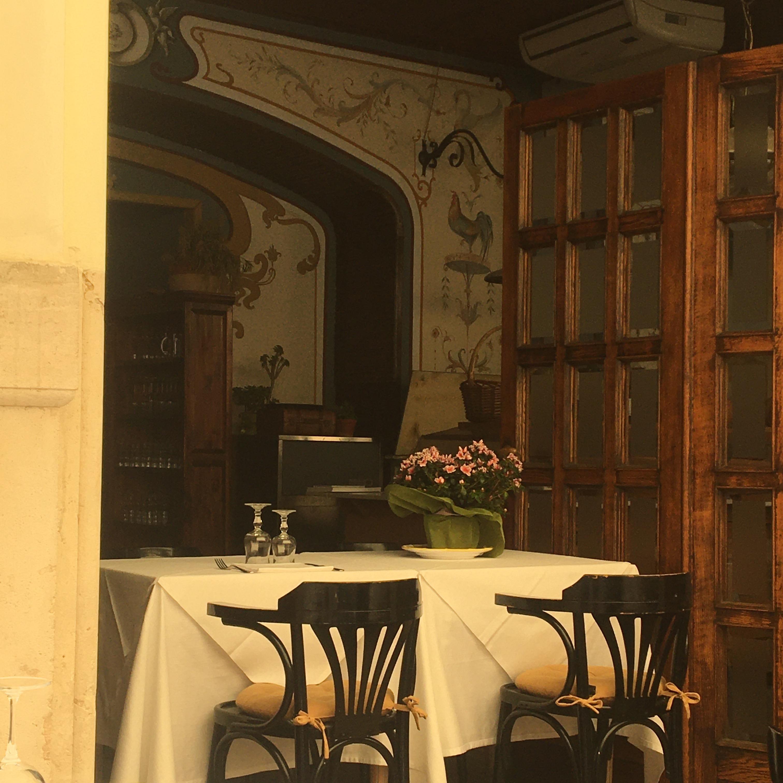 Sciarra ресторан в Риме