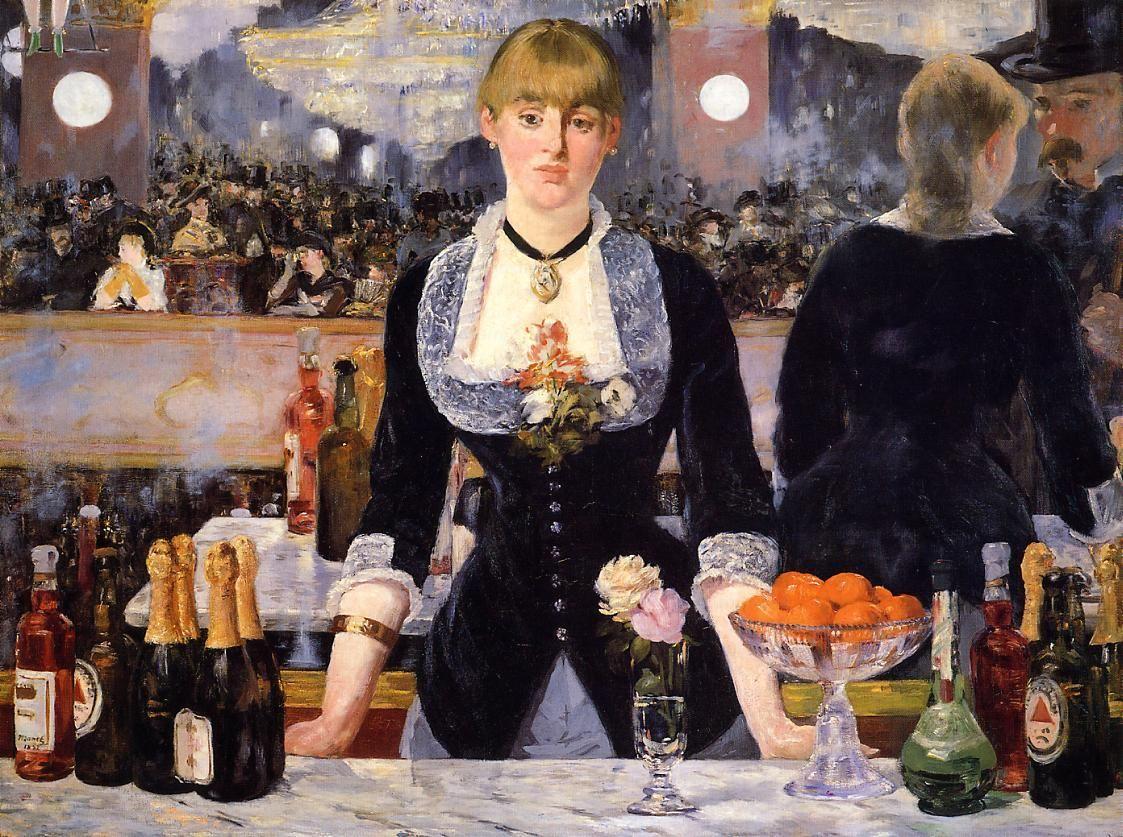 Эдуард Мане / «Бар в «Фоли-Бержер» / 1882