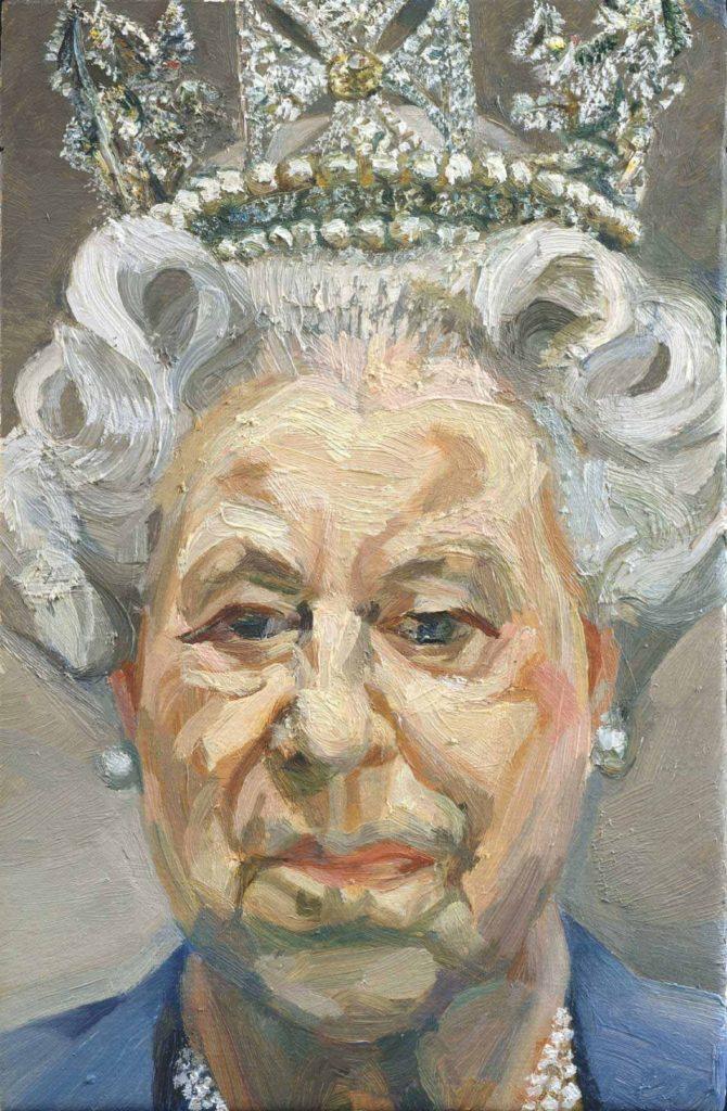 Люсьен Фрейд / «Её Величество Королева Елизавета II» / 2001