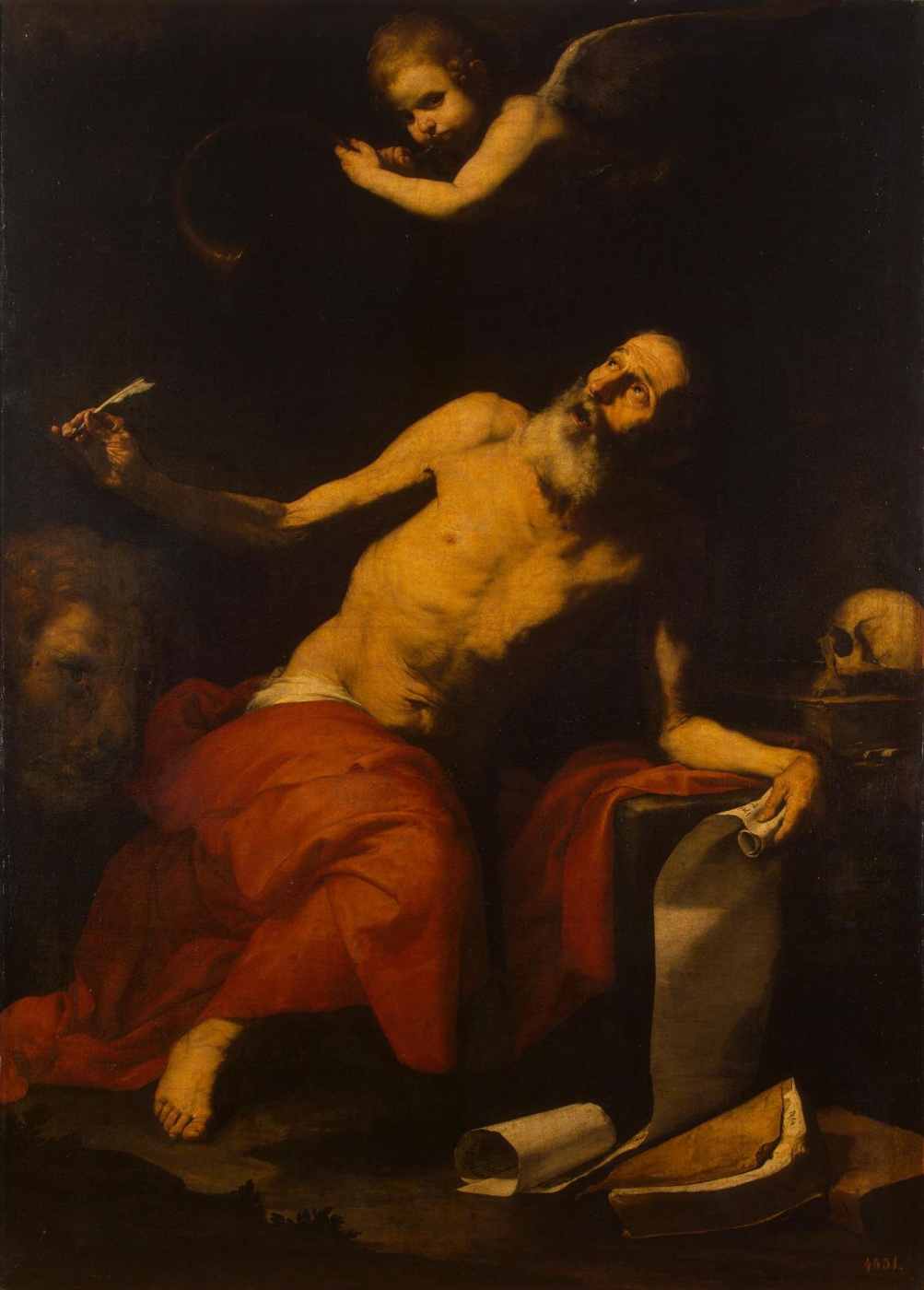Хосе де Рибера / «Святой Иероним, внимающий звуку небесной трубы» / 1626