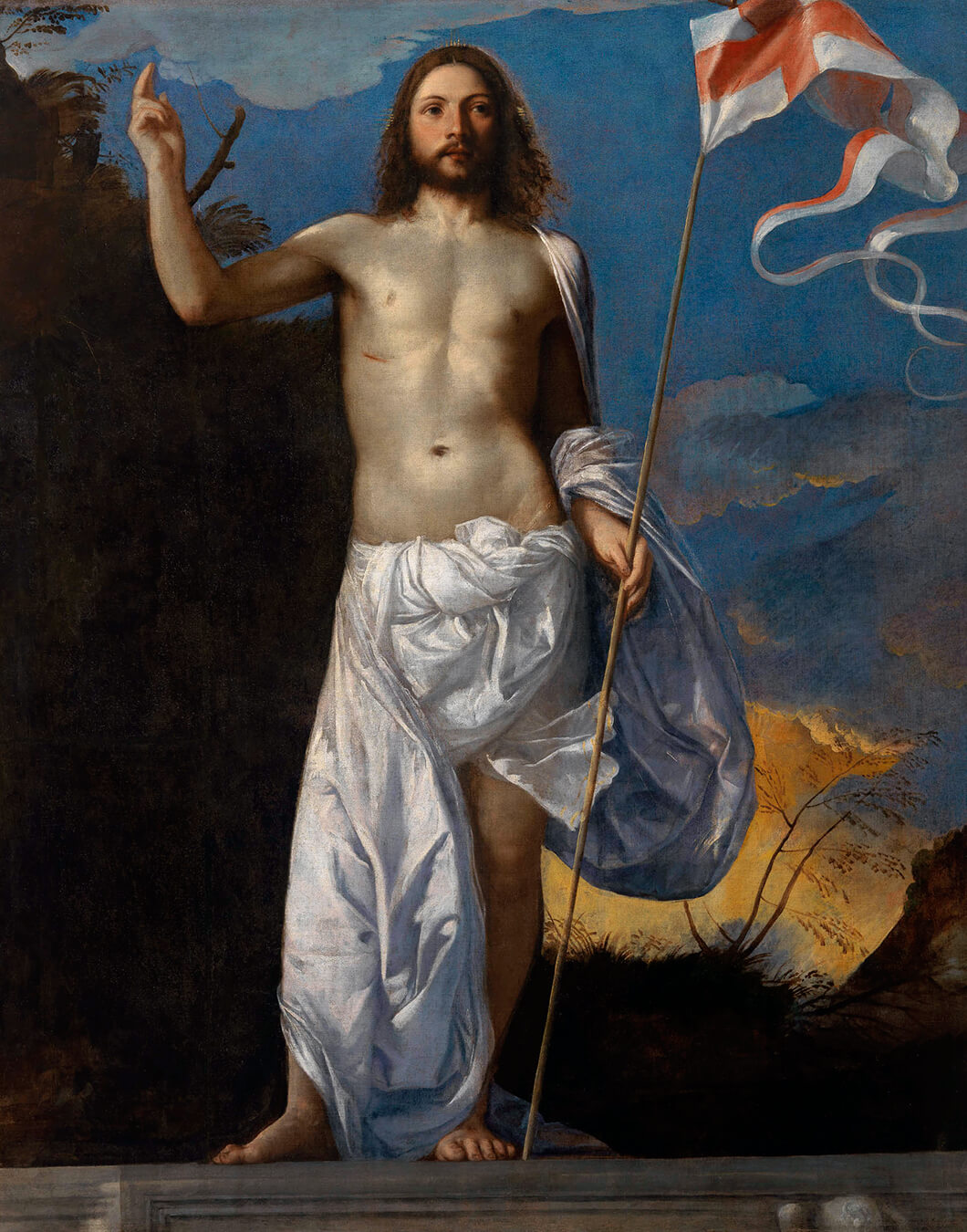 Тициан / «Воскресший Христос» / 1511