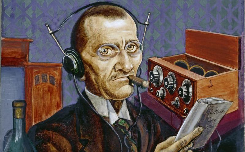 Курт Гюнтер / «Радиолюбитель» (деталь) / 1927