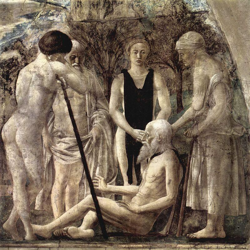 Пьеро делла Франческа / «Смерть Адама» / 1452-66
