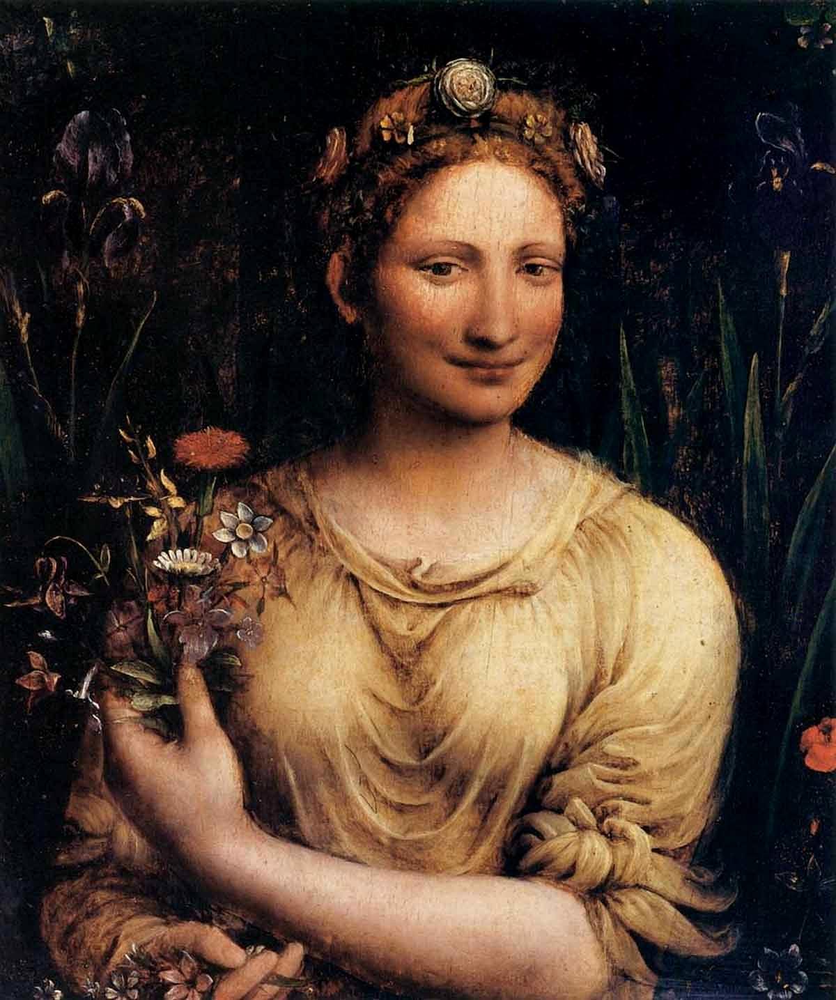 Франческо Мельци / «Флора» / ок. 1520