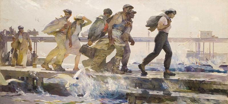 Таир Салахов / «С вахты» / 1957