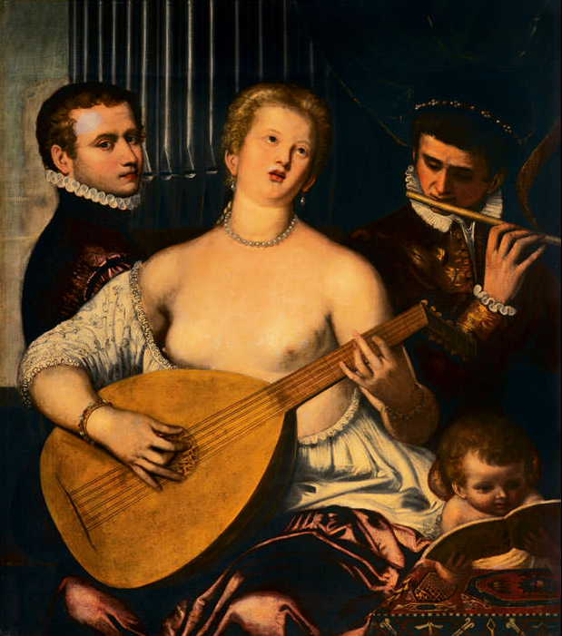 Симоне Петерцано / «Аллегория музыки» / ок.1580