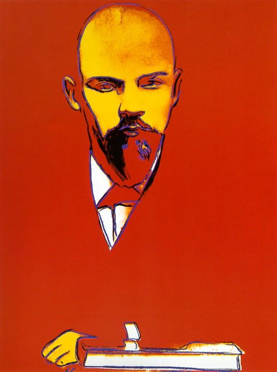 Энди Уорхол / «Красный Ленин» / 1987