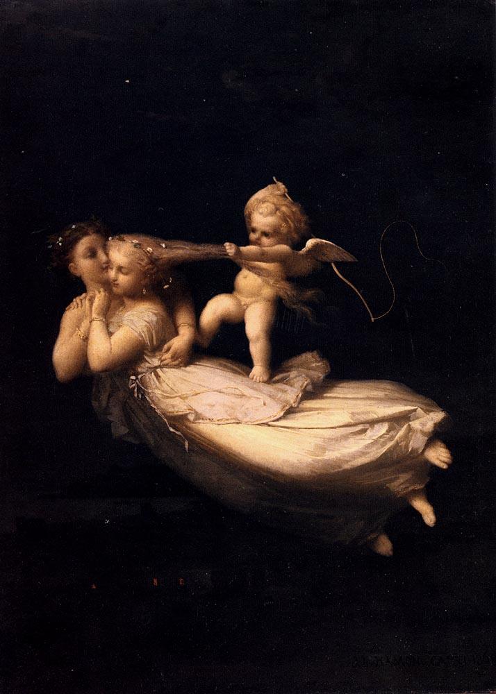 художник / Жан-Луи ГАМОН (1821-1874) / «Ночь»