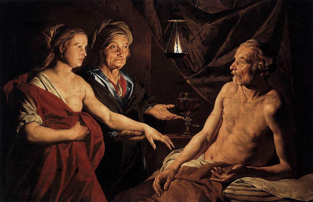 Маттиас Стом / «Сара приводит Агарь к Аврааму» / ок. 1600-52