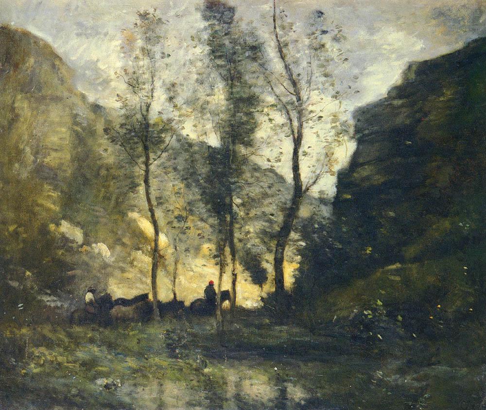Жан-Батист-Камиль Коро / «Контрабандисты» / 1872