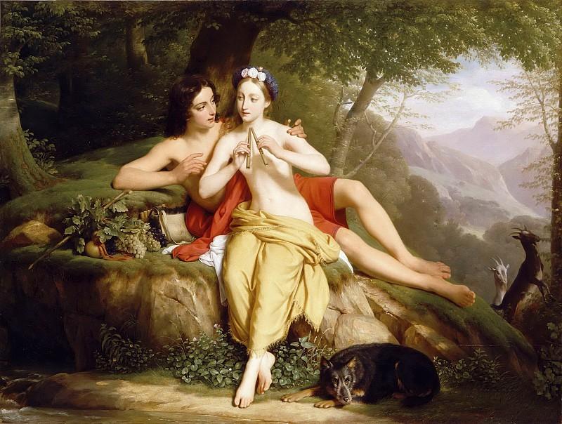 художник / Луи ЭРСАН (1777-1860) / «Дафнис и Хлоя»