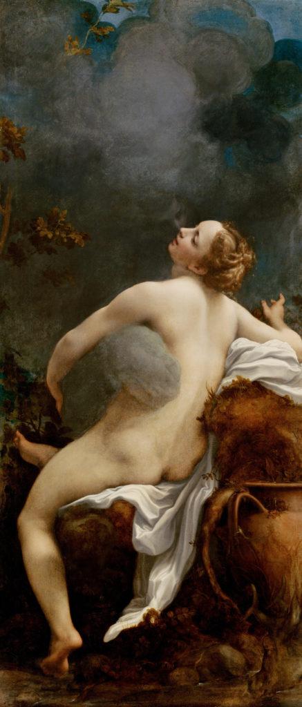 Антонио Корреджо / «Юпитер и Ио» / 1531