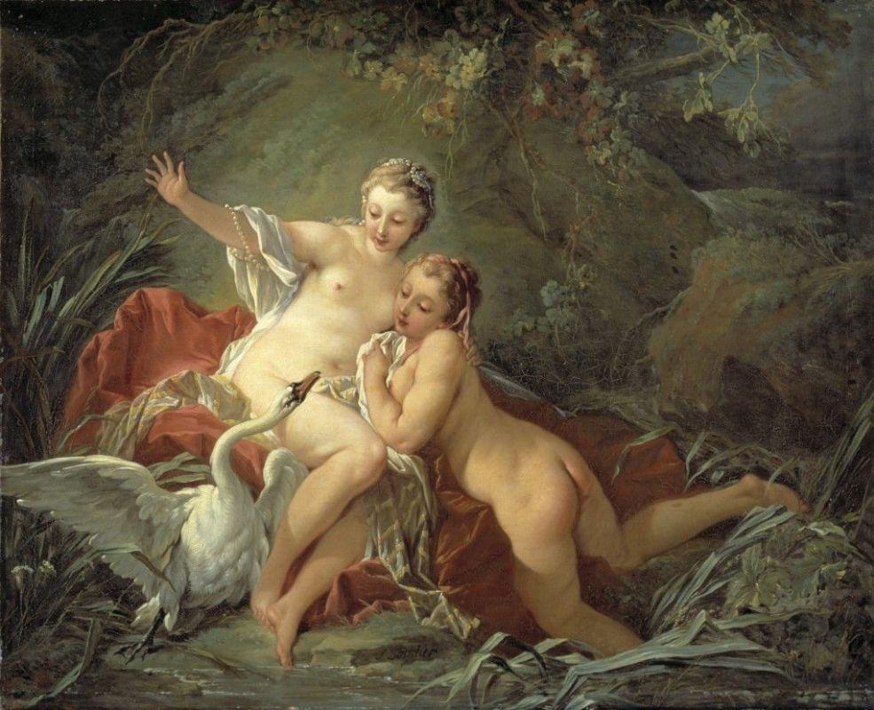 Франсуа Буше / «Леда и лебедь» / 1742