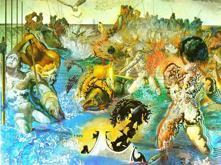Сальвадор Дали / «Ловля тунца» / 1967