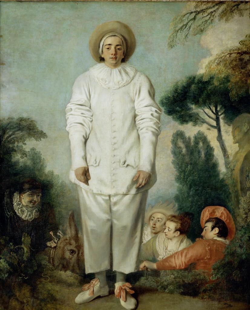 Антуан Ватто / «Жиль» / 1719