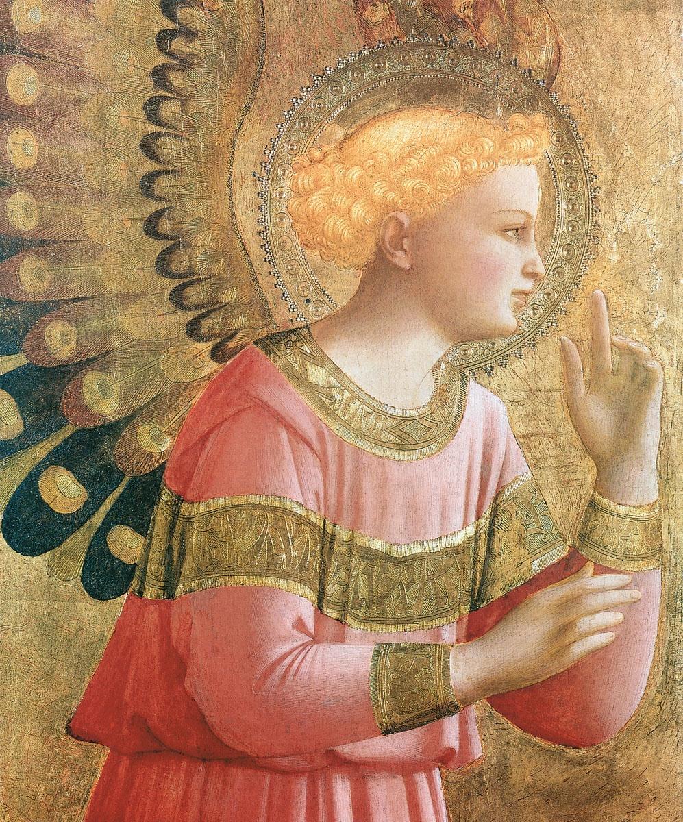 Фра Беато Анджелико / «Ангел Благовещения» / 1455