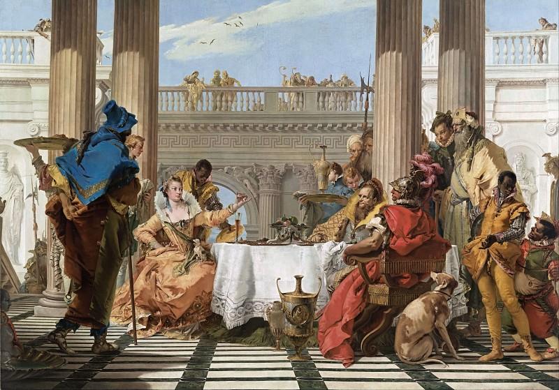 Джованни Баттиста Тьеполо / «Пир Клеопатры» / 1743-44