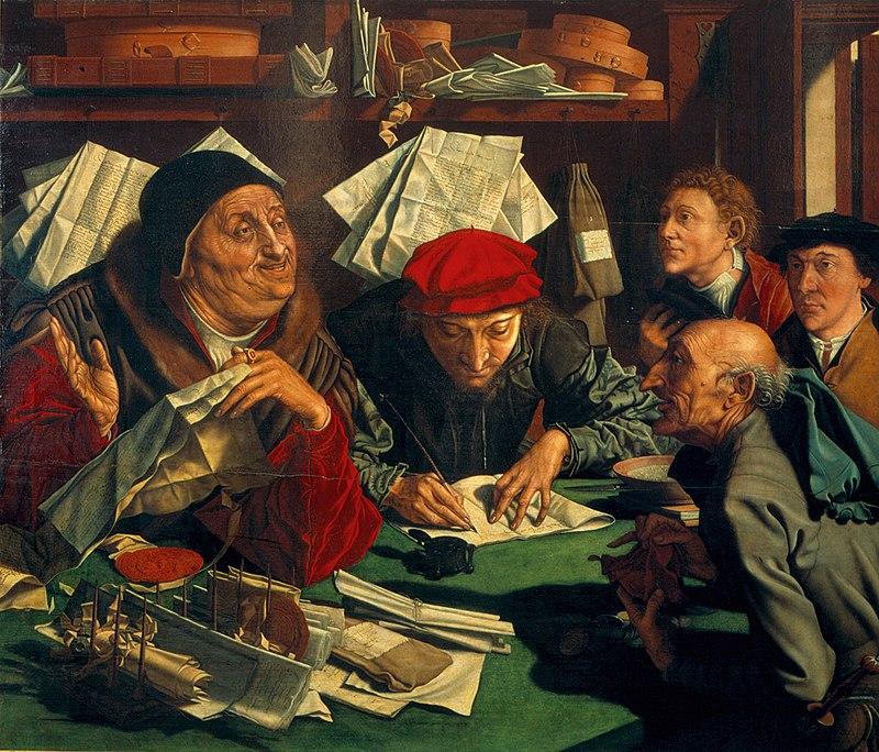 Маринус ван Реймерсвале / «Сборщики налогов» / 1542