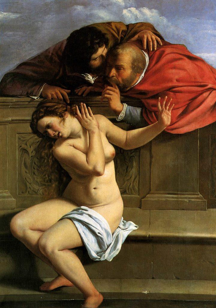 Артемизия Джентилески / «Сусанна и старцы» / 1610