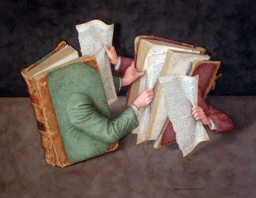 Джонатан Уолстенхолм / «Books on Books» / 2003