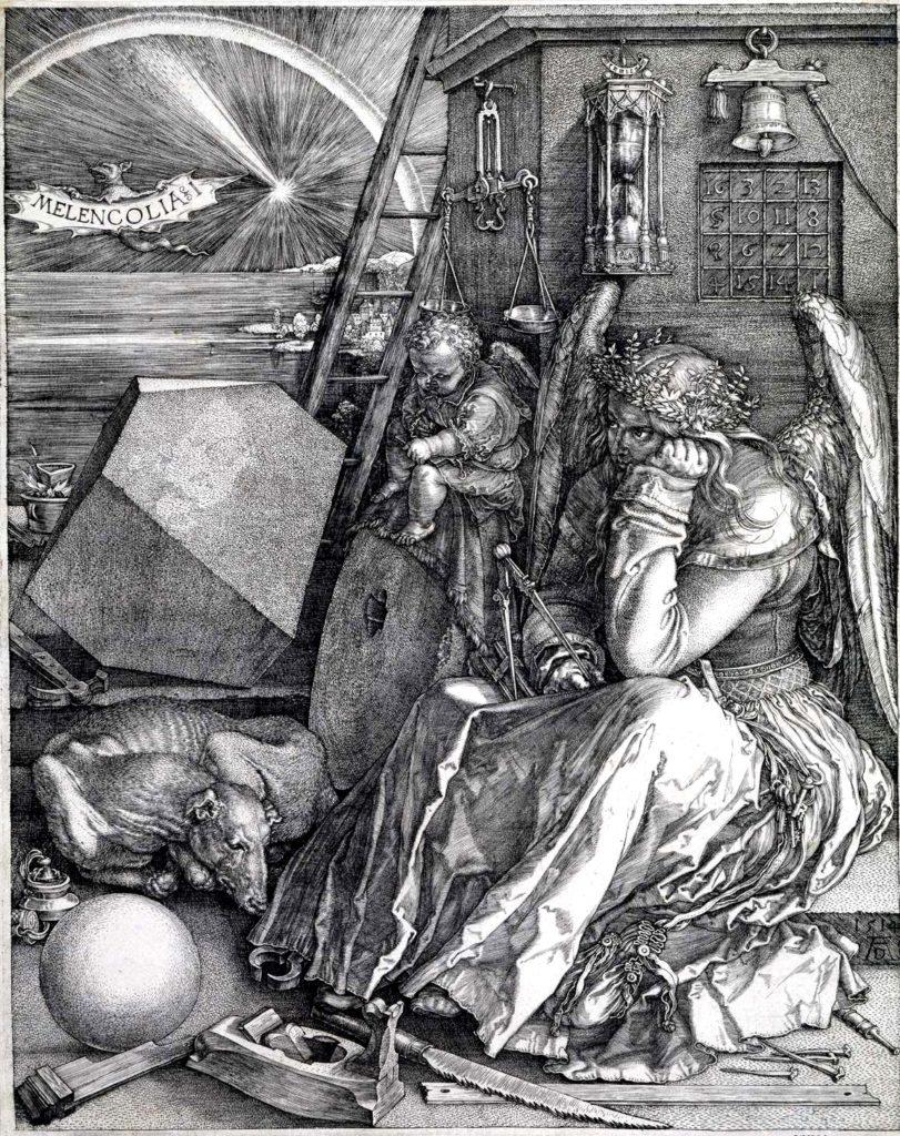 Альбрехт Дюрер / «Меланхолия I» / 1514