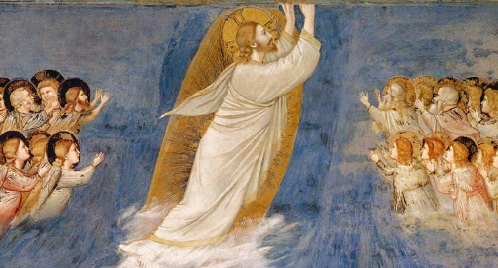 Джотто ди Бондоне / «Вознесение», фрагмент / 1302-05