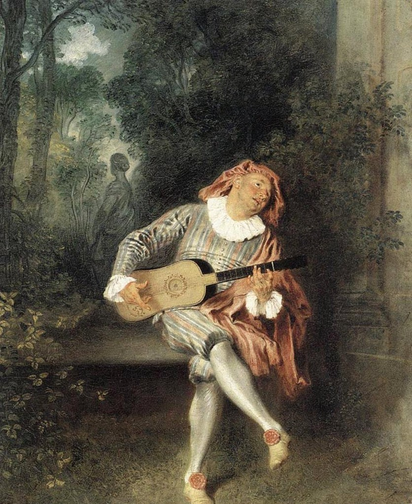 Антуан Ватто / «Меццетен» / 1717-19