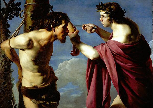 Бартоломео Манфреди / «Аполлон и Марсий» / 1610