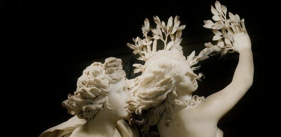 Бернини / «Аполлон и Дафна», фрагмент / 1622-25