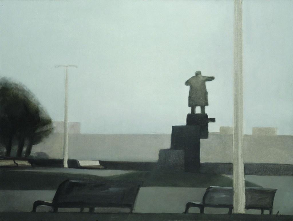 Владимир Шинкарев / «Площадь Ленина» / 1996