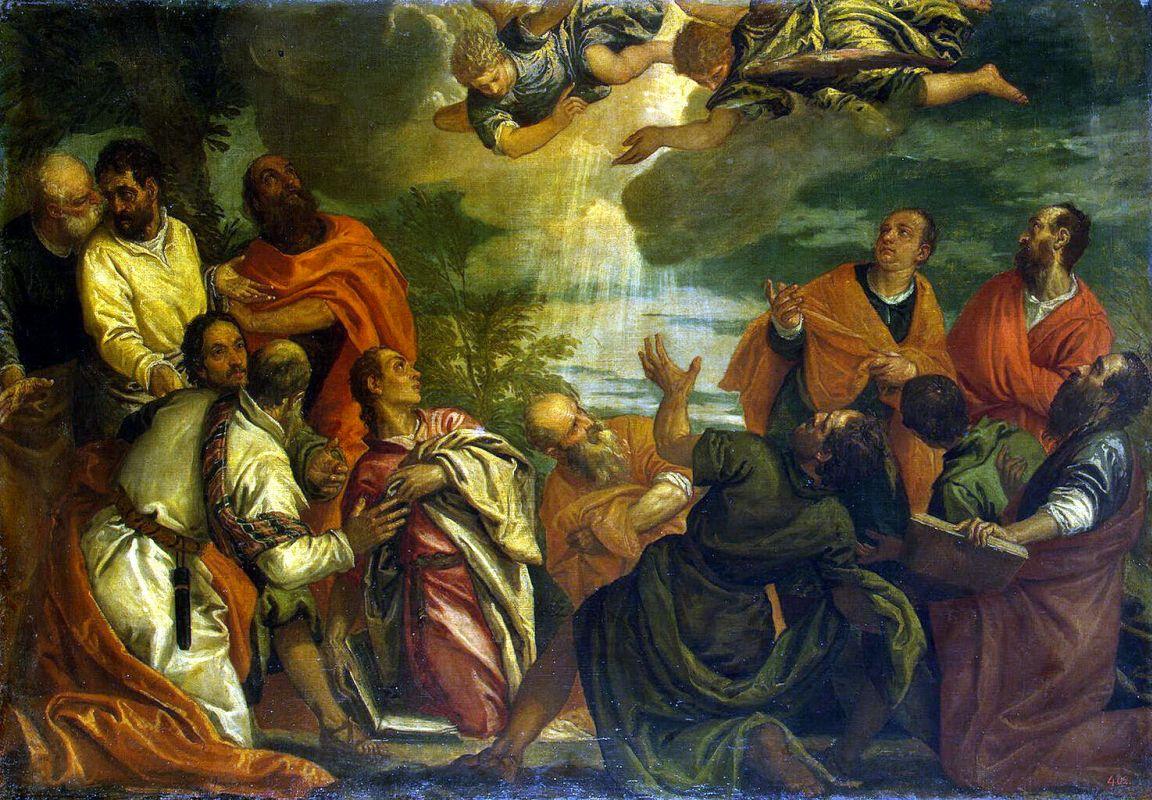 Бенфатто дель Фризо Альвизе / «Сошествие Святого Духа на Апостолов» / 1580-е