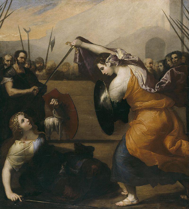 Хосе де Рибера / «Женская дуэль» / 1636