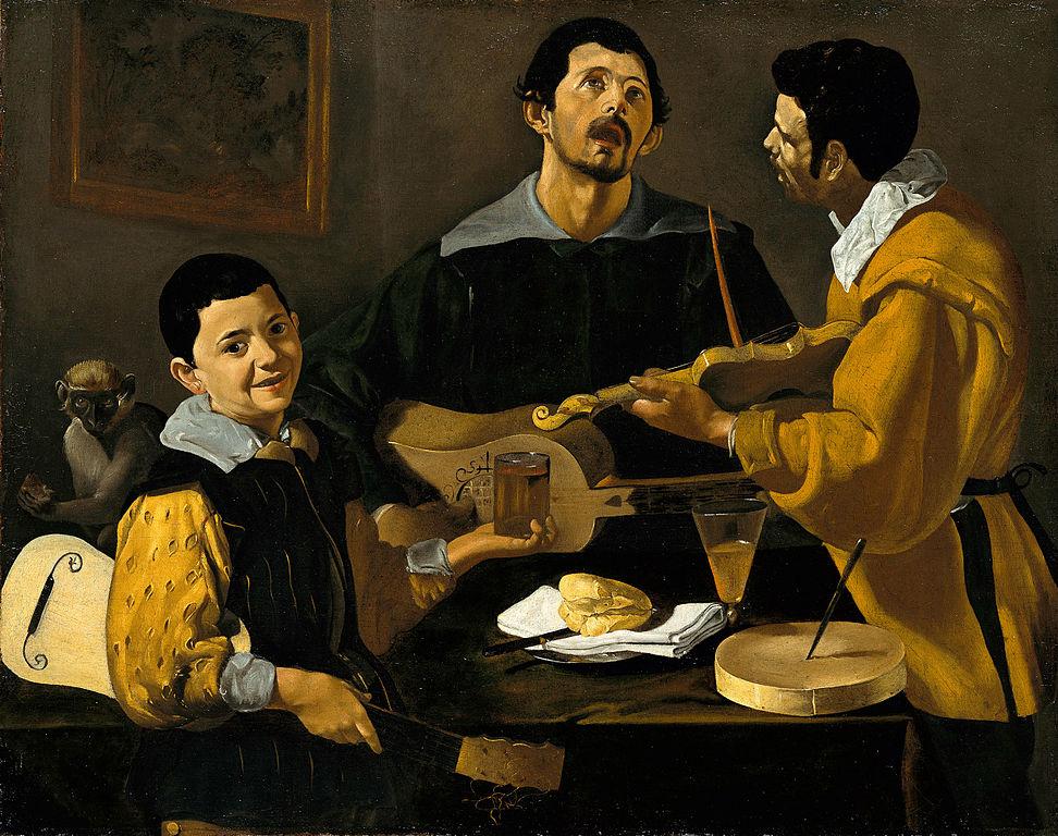 художник Диего ВЕЛАСКЕС (1599-1660) / «Три музыканта»