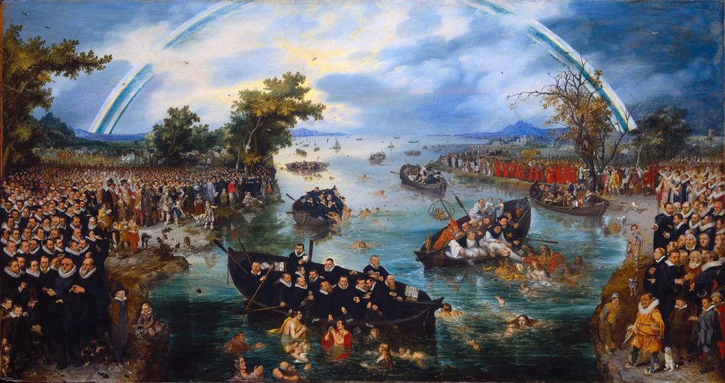 Адриан ван де Венне / «Ловцы душ» / 1615